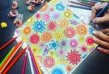 Tysiąc sposobów na kwiaty! / Jak je pokolorować? Możliwości jest mnóstwo :)