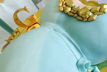 @ipartydiy Baby shower belly cake!! Custom made for the beautiful mummy to be! Inspired by her love of Mimco jewellery!