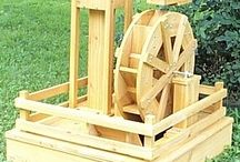 Woodworking -> Water Wheels || Fountains