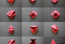 origami 3D paper