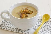 food   vegan soups / by Katy