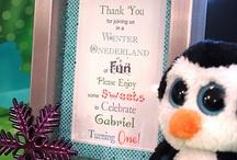 Winter Onederland 1st Birthday Party Ideas