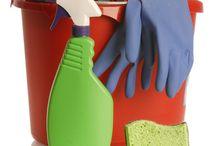 Cleaning / by Rosann Cunningham