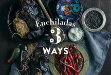 Day of the Dead Dinner Party / We're celebrating our new enchiladas with a Day of the Dead dinner party. Here are some ideas and tips to help you throw your own.
