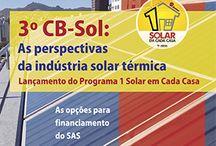 Energia Solar / Orientação às construtoras, empresas de engenharia e projetistas.