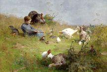 Luigi Chialiva - Paintinggs