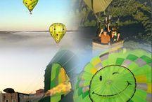 Cadeau vol en montgolfière dans le Tarn et Aveyron / Cadeau vol en montgolfière à proximité de Toulouse