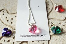 """What Customers are Saying about InspiredDesigns4YOU / """"I absolutely LOVE wearing your jewellery. It is such high quality and made with love it feels so precious""""!"""