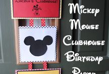 1St Birthday Mickey Mouse Clubhouse