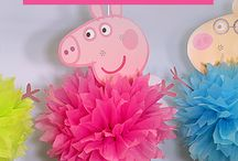 peppa pig birthday party decorations
