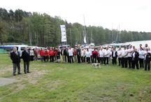 Otwarcie sezonu 2014 / 26 kwietnia 2014 w klubie Żeglarskim Chalkos na jeziorze Sławskim odbyły się regaty ,,Otwarcie sezonu 2014,, połączone z obchodami 40-lecia Jacht  Klubu Zagłębia Miedziowego .