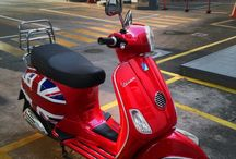 My red lx, damnn i love vespa