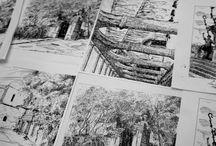 Line Drawings  / by Marlon Muñoz