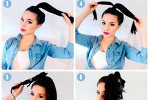 Curling your hair!