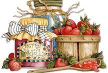 Decoupage for jar