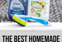 Home cleaning products easy to make