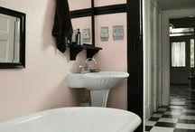Inspirational Homes: Black & White Geometric Forms