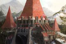 Fantasy/Sci-fi Landscapes