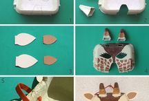 egg cartons craft ideas