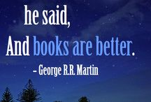 Book quotes / Frases de libros o sobre los libros.