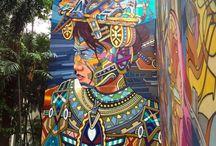 STREETart Murals and Graffiti
