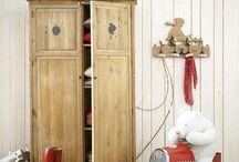 Habitaciones infantiles vintage -Vintage children bedrooms