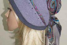 шапки-шарфы