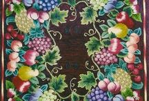 Art - Wool Rugs - Hooked on Rugs  / I am a hooker and so are a few of my friends...Beautiful rugs, both hooked and braided by fiber artists old and new / by Rinnie Hunt Henry