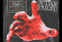 Tribute To Judas Priest / A Judas Priest Tribute - The Metal Forge Volume 1 was released by Metal Hammer Magazine Issue 205. The free CD giveaway includes artists such as Firewind, Disturbed & Rise To Remain.
