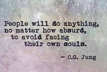 Jung Quotes / Quotes from pioneering Swiss psychologist C. G. Jung