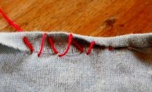 sew by hand technique