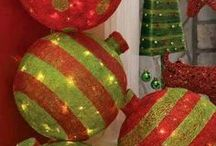 giant Christmas balls
