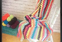 My Crochet Blankets / Bright and cheerful blankets to add cheer to any home x