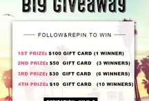 Giveaway / Giveaway, contests, share&win