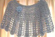 Shell shawl