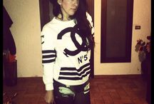 My sweatshirt !!!! A post up in My blog !!! / Chanel sweatshirt ... You see My blog , there is a post up !!!