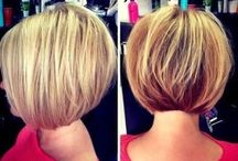 hair bob cut short