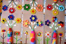 Easter-spring crafts