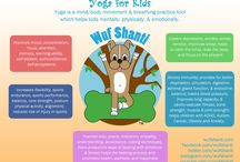"""Yoga Info-Graphics for Kids - Wuf Shanti / Wuf Shanti, dog yoga character for kids. Promotes health, wellness, peace, & positivity. Wuf Shanti has videos on YouTube Kids, Books, & a mindful mobile App """"The Yoga Fun Machine"""". They all help children to live a yogic-minded lifestyle and  Think Well to Be Well! :)"""