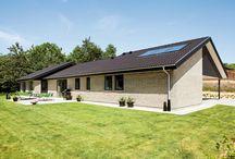 eurodan-huse. Tagløsninger / Vi tilbyder 7 forskellige tagløsninger eller arkitekturer.