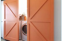 Dreamy Laundry Rooms / by A Pop of Pretty Blog