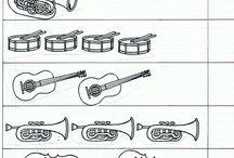 hudobné nástroje, hudba