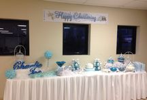 Christening Decorations / Candy Table decorations ,souvenirs...