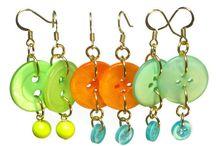 Button jewelry craft