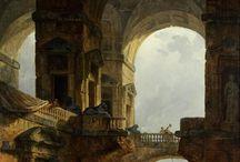 RUINS ABANDONED PAINTINGS / Ruins paintings