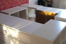 łóżko na podeście - Ikea i nie tylko