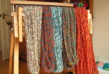 Looms and yarns, my works / Spinning, yarn twisting, weaving apparatus for a home weaver.