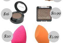 Drugstore makeup (dupes)