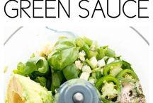 Avocado green dip