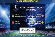 Football / Football live broadcasts
